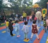 家园共育、共促成长——滨滨馨月幼儿园家长半日开放活动